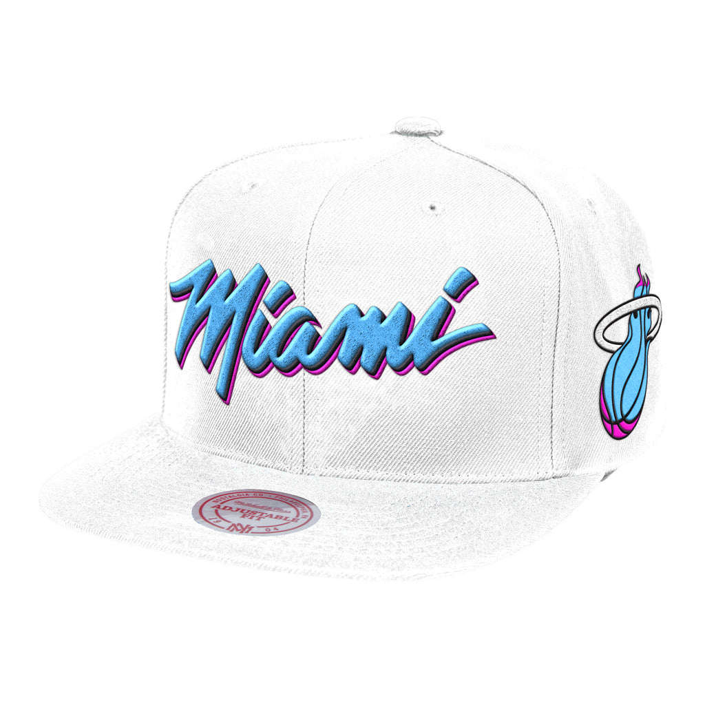Mitchell & Ness ViceWave Miami Team Short Snapback - featured image