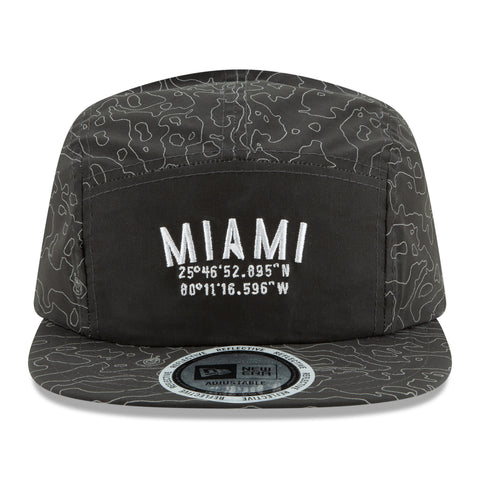 Court Culture 3M Reflective Miami Coordinates Camper