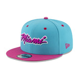 New ERA Miami HEAT Vice Nights MIAMI Logo Snapback - 3