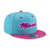 New ERA Miami HEAT Vice Nights MIAMI Logo Snapback - 4