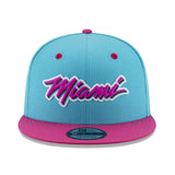 New ERA Miami HEAT Vice Nights MIAMI Logo Snapback - 1
