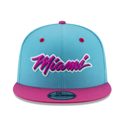 New ERA Miami HEAT Vice Nights MIAMI Logo Snapback