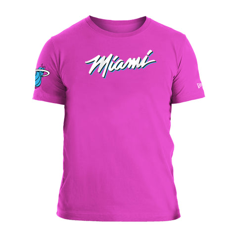 New ERA Sunset Vice Wordmark Tee