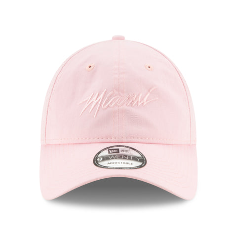Court Culture Miami Script Pink Dad Hat