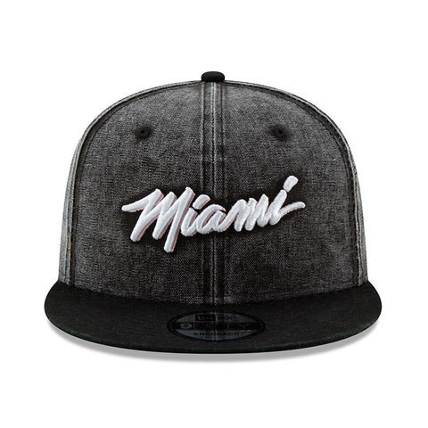 New ERA Miami HEAT Vice Nights MIAMI Wash Hat