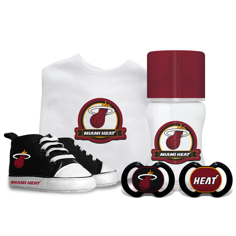 Baby Fanatics Miami HEAT 5 Piece Gift Set