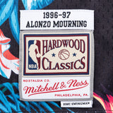 Mitchell & Ness Alonzo Mourning Floral Swingman Jersey - 3