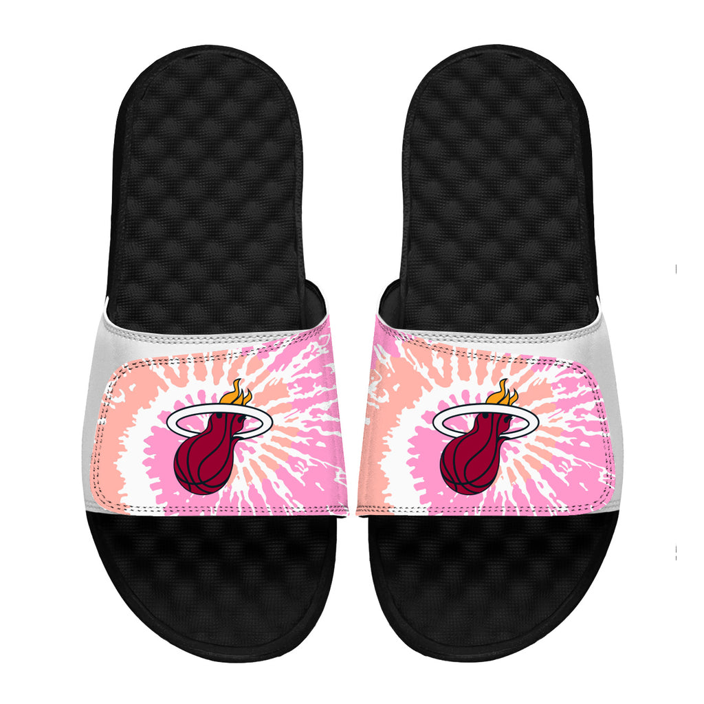 ISlide Miami HEAT Pink Tie Dye Sandals - featured image
