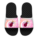 ISlide Miami HEAT Pink Tie Dye Sandals - 1