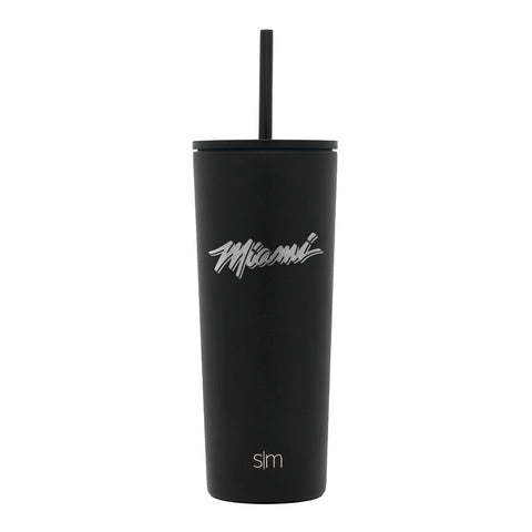 Simple Modern 24Oz Classic Miami Etch with Straw