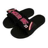 ISlide Miami HEAT Alonzo Mourning Sandals - 2