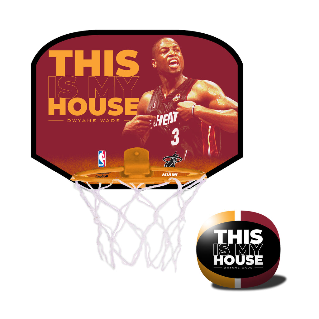 The Licensed Products Dwyane Wade My House Hoop Set - featured image