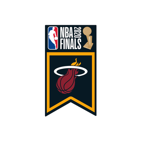 Aminco NBA 2020 Finals Team Banner Pin