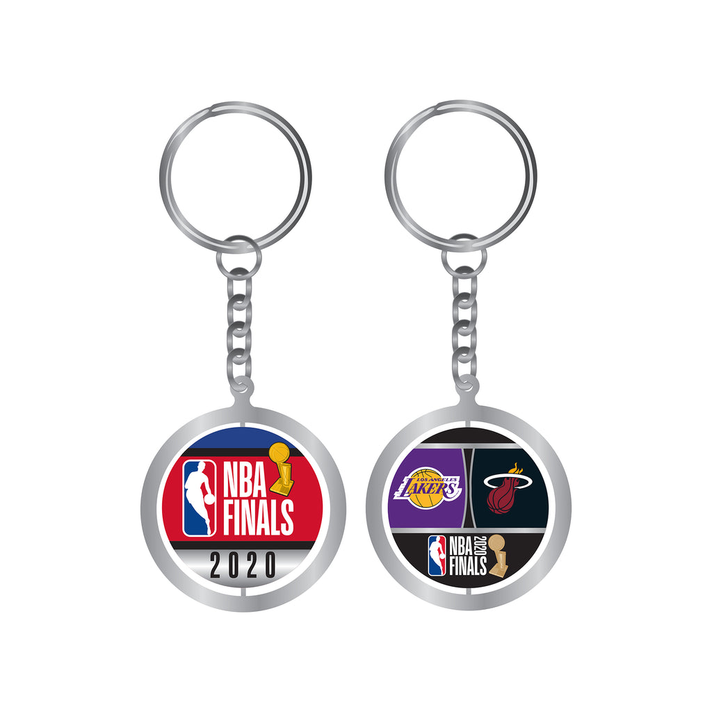 Aminco 2020 NBA Finals Duel Spin Keychain - featured image