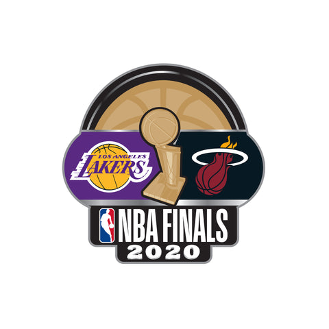 Aminco 2020 NBA Finals Dueling Pin