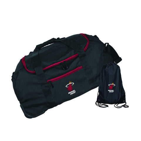 "MOJO Miami HEAT 22"" Mini Collapsible Duffel Bag"