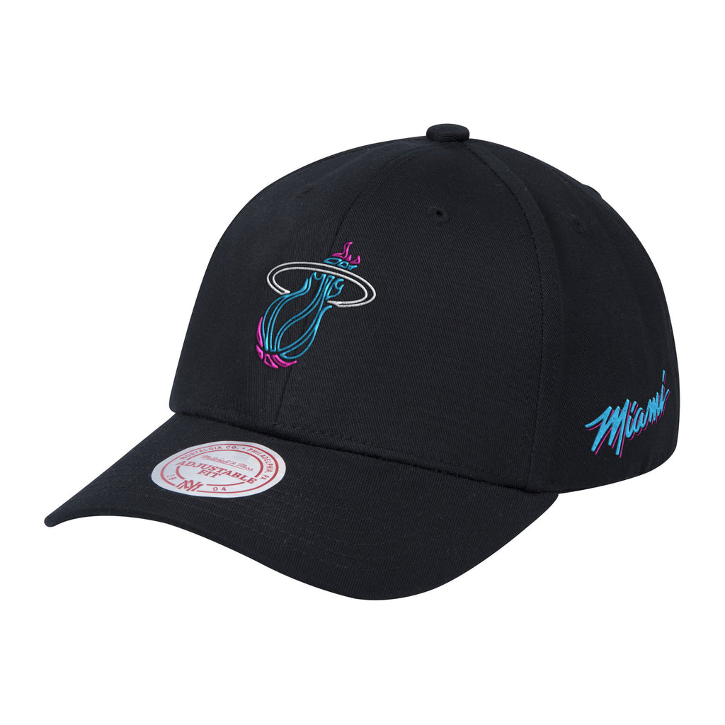 Mitchell & Ness Vice Nights Neon Ball Dad Hat - featured image