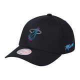 Mitchell & Ness Vice Nights Neon Ball Dad Hat - 1