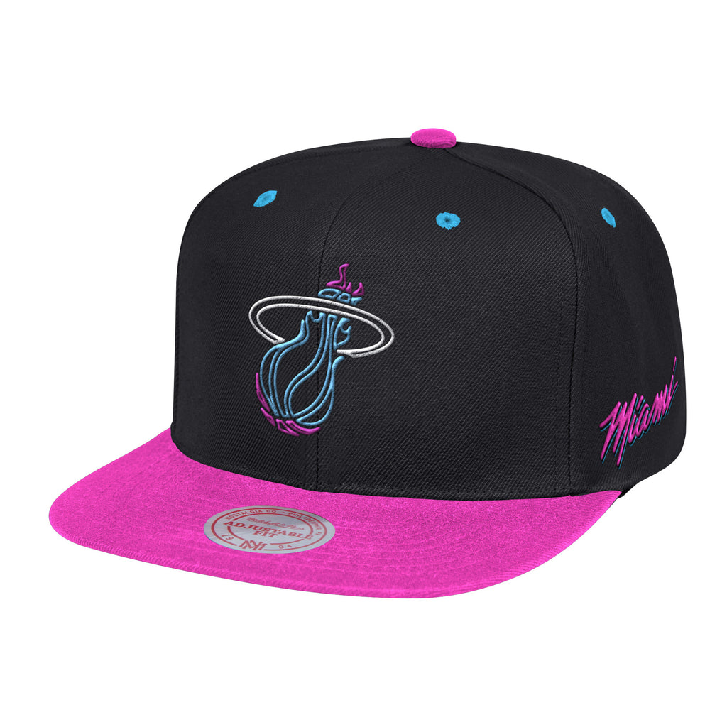 Mitchell & Ness Vice Nights Neon Lights 2 Tone Snapback - featured image