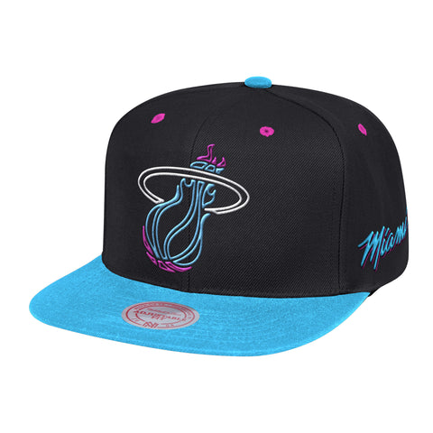 Mitchell & Ness Vice Nights Neon Lights 2 Tone Snapback