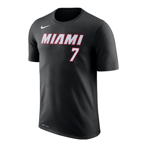Goran Dragic Nike Miami HEAT Name & Number Tee