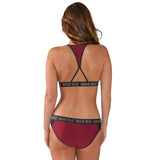 GIII Miami HEAT Ladies Squeeze Play Bikini - 2