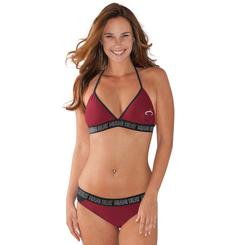 GIII Miami HEAT Ladies Squeeze Play Bikini
