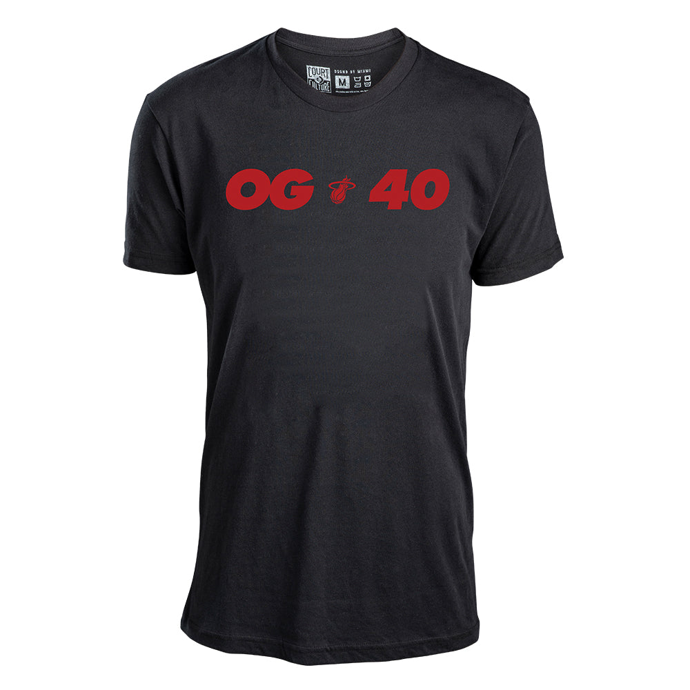 Court Culture Miami HEAT Haslem OG40 Tee - featured image