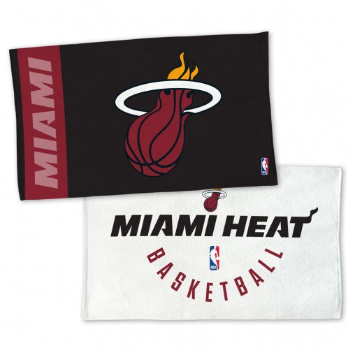 Wincraft Miami HEAT On-Court Bench Towel - featured image