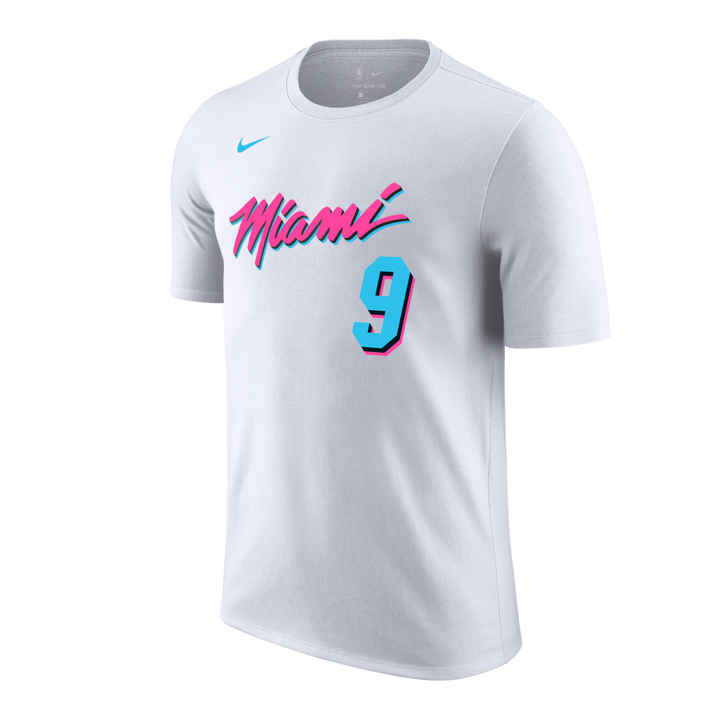 Kelly Olynyk Nike Miami HEAT Vice Uniform City Edition Youth Name & Number Tee - featured image