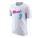 Kelly Olynyk Nike Miami HEAT Vice Uniform City Edition Youth Name & Number Tee - 1