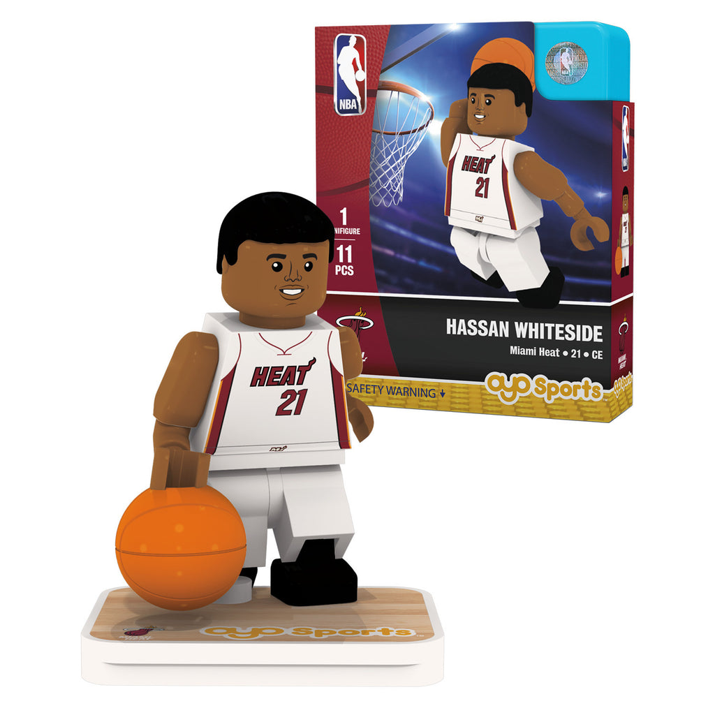 OYO Sports Miami HEAT Hassan Whiteside Minifigurine - featured image