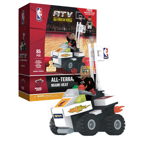 Miami HEAT 4 Wheel ATV with Super Fan
