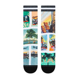 PKWY WADE REMIX Postcard Party Socks - 2