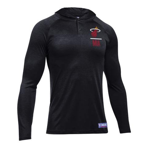 Under Armour Miami HEAT Long Sleeve Novelty Tech Hood