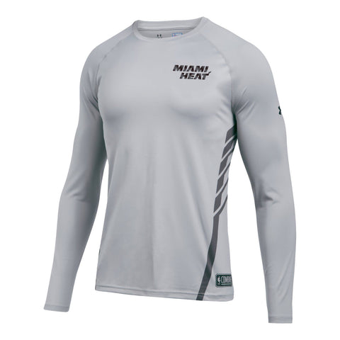Under Armour Miami HEAT Long Sleeve Pinnacle Shooting Shirt