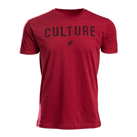 Court Culture HEAT CULTURE Red Men's Tee