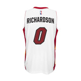Josh Richardson Miami HEAT adidas Home Swingman Jersey White - 2