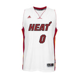 Josh Richardson Miami HEAT adidas Home Swingman Jersey White - 1