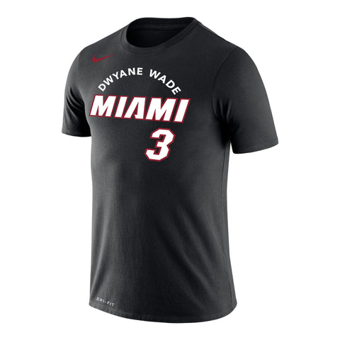 Nike Dwyane Wade Skyline Name & Number Tee