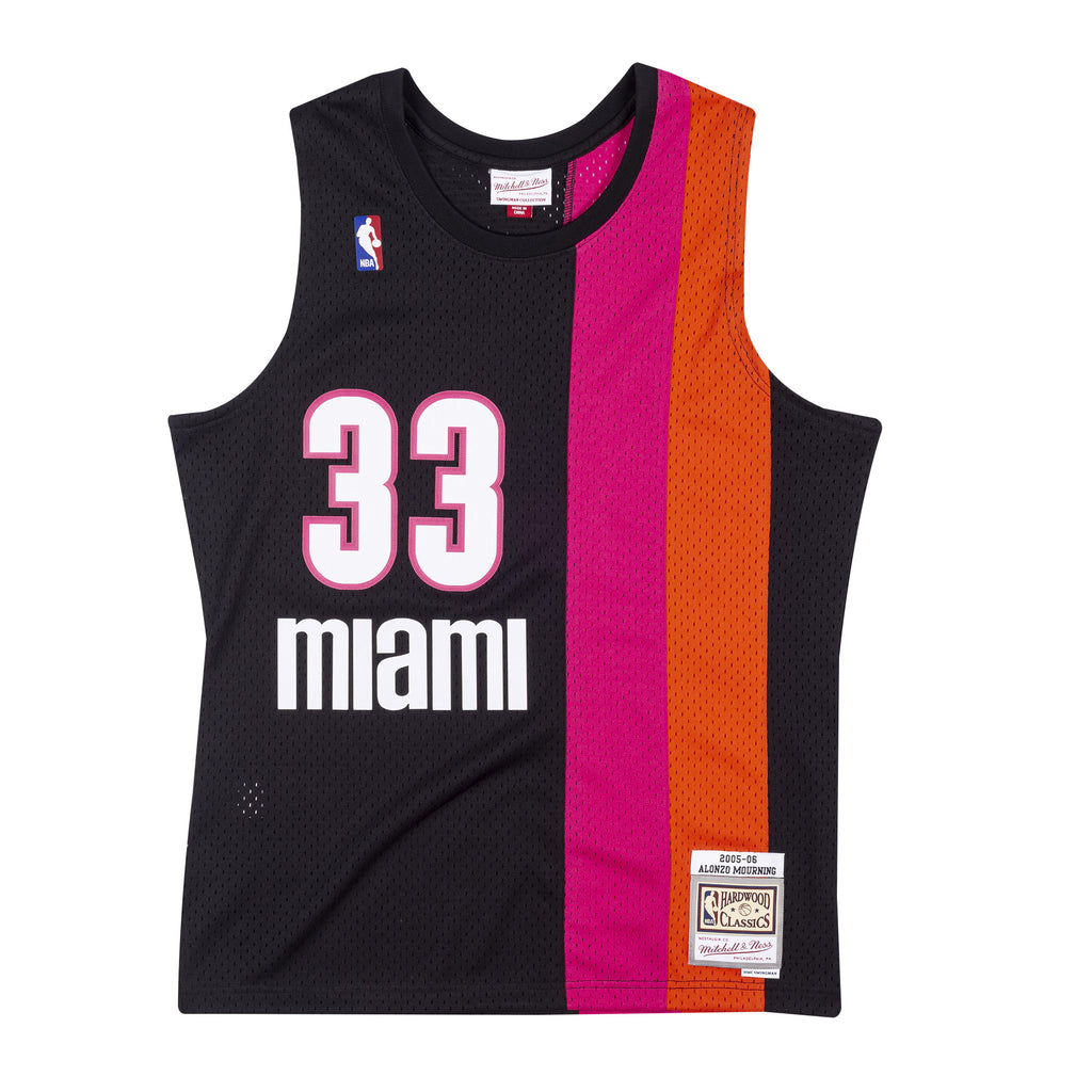 Alonzo Mourning Mitchell & Ness Floridians Hardwood Classic Swingman Jersey - featured image