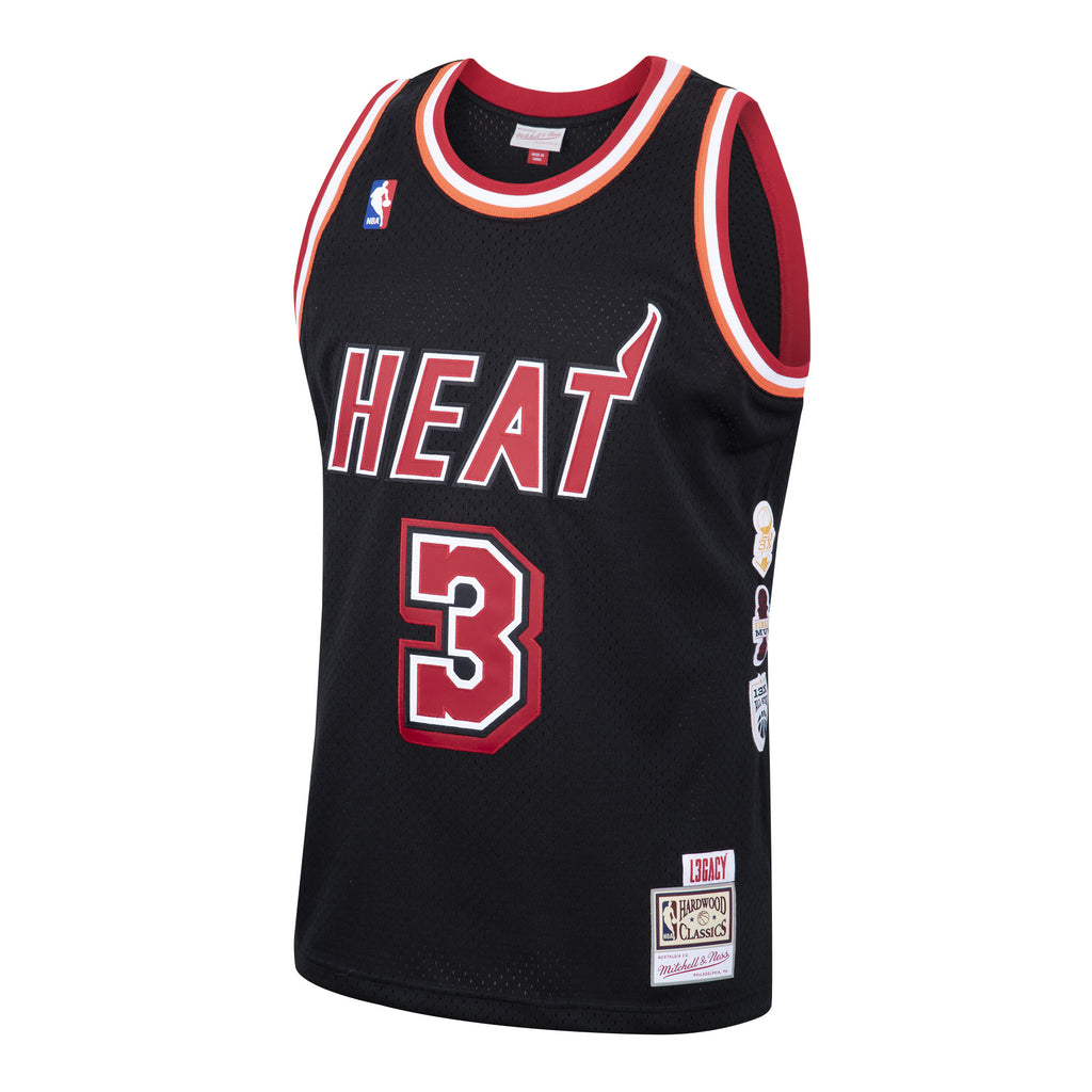 Dwyane Wade L3GACY Black Jersey - featured image