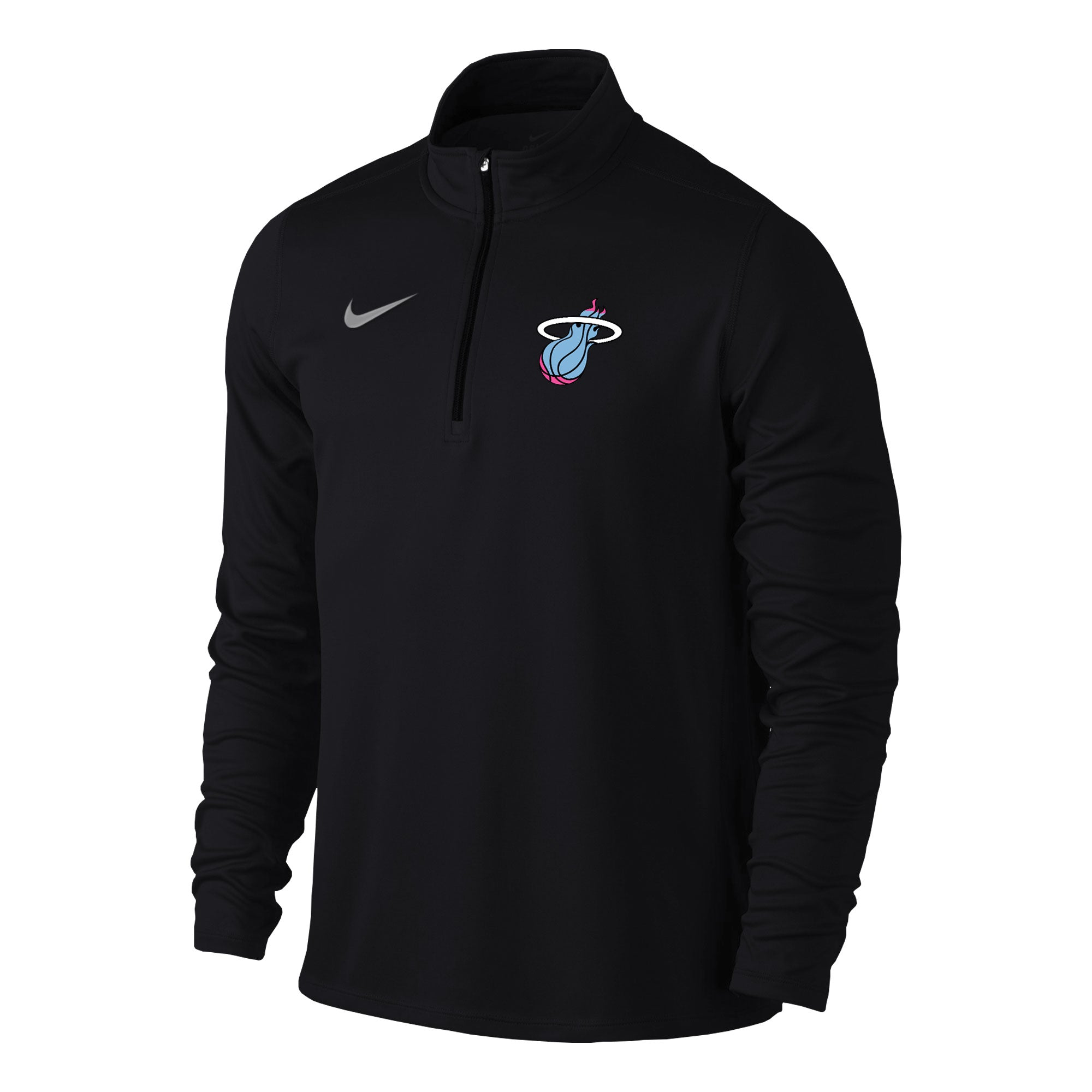3a18f0fa788b Nike Miami HEAT Vice Nights Long Sleeve Solid Element Top - featured image