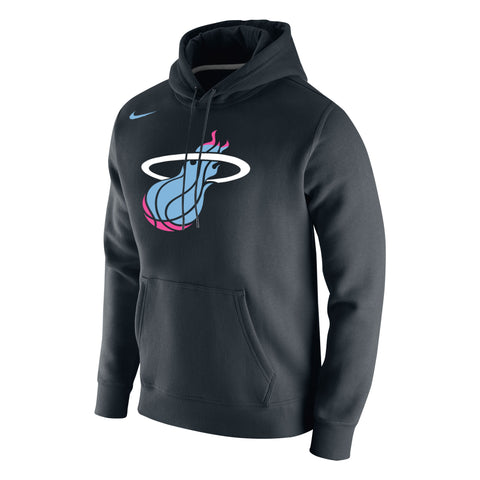 Nike Miami HEAT Vice Nights Stadium Club Fleece Hoody