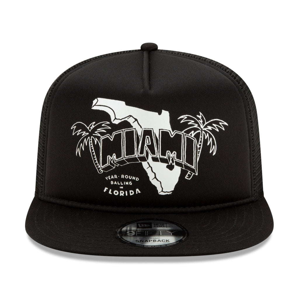 Court Culture State Mesh Snapback - featured image