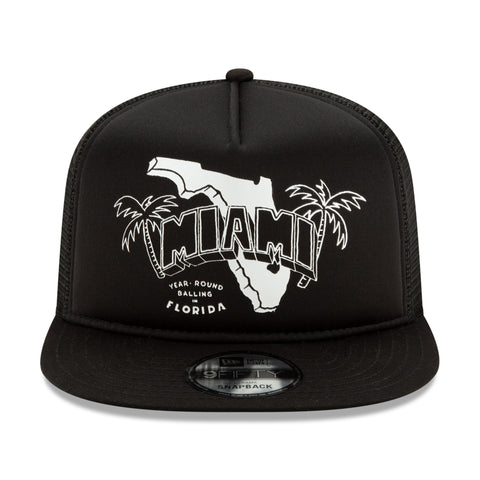 Court Culture State Mesh Snapback