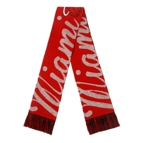 Forever Collectibles Miami HEAT Ladies Glitter Scarf
