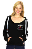 Sportiqe Miami HEAT Ladies Port Hoodie - 2