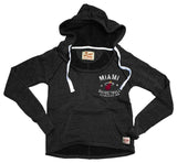 Sportiqe Miami HEAT Ladies Port Hoodie - 1