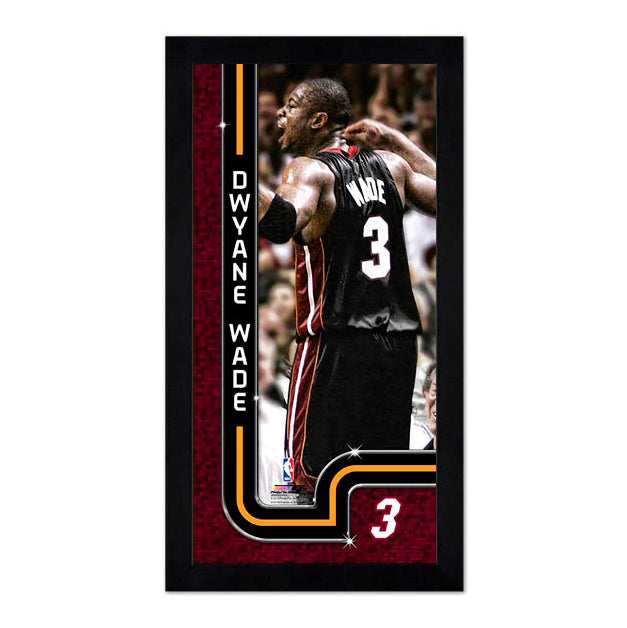 Photofile Dwyane Wade This Is My House Mini Frame - featured image